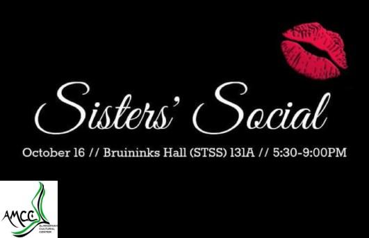 Sister's Social Flyer